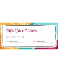 test gift card